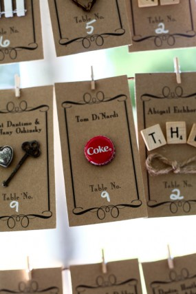 creative-diy-outdoor-wedding-vintage-inspired-place-cards