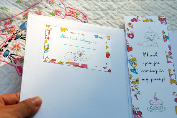 Vintage-DIY-Book-Birthday-Party-Book-Plate-Favors