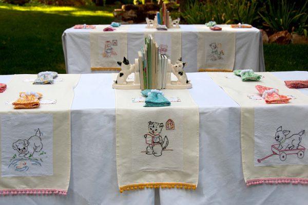 Vintage-DIY-Book-Birthday-Party-Table