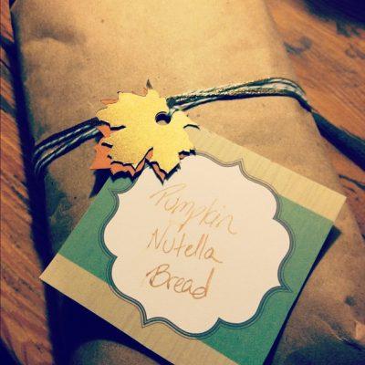 DIY Thanksgiving Gift Wrapping