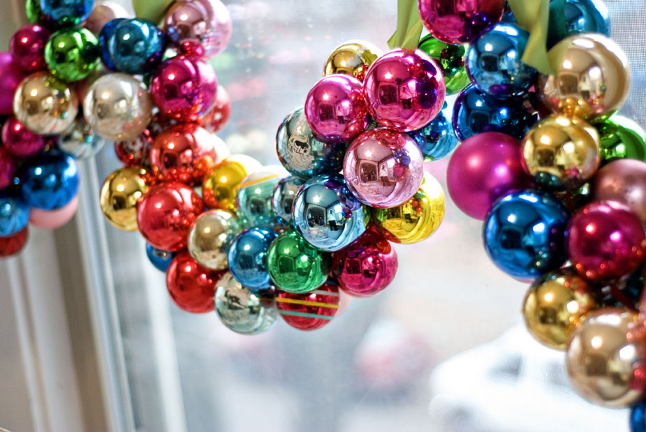 Five New Uses for Christmas Bulb Ornaments