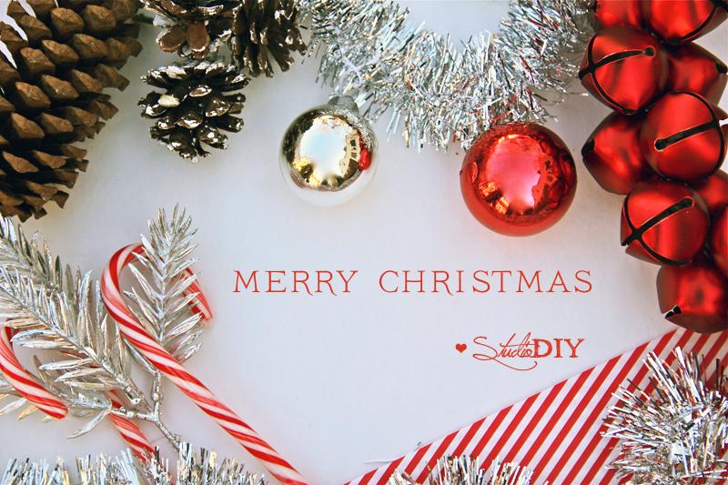 Merry Christmas from Studio DIY!