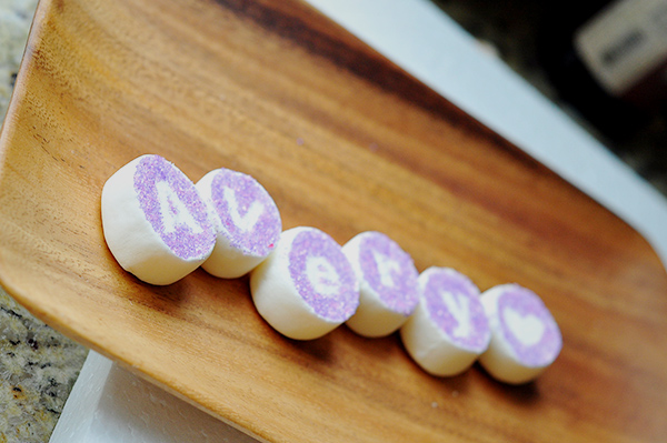Marshmallow-place-cards