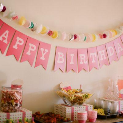 Amory's DIY Cupcake Birthday Party