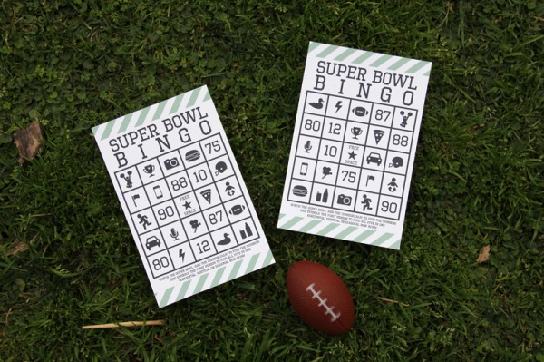 photo about Superbowl Boards Printable known as Absolutely free Printable Tremendous Bowl Bingo