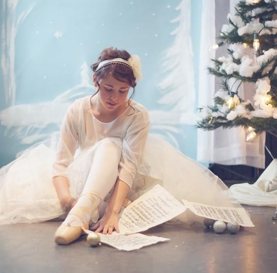 Nutcracker Inspired DIY Winter Wedding Shoot