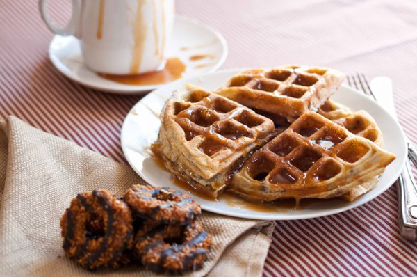 girl-scout-cookie-samoa-waffles