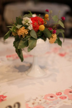 vintage-diy-wedding-reception-tables