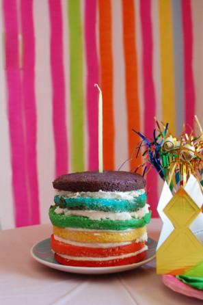 diy-rainbow-birthday-cake