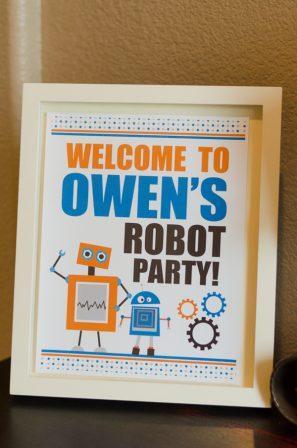 diy-robot-birthday-party-for-boys
