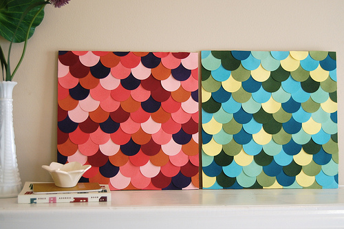 diy-scallop-wall-art