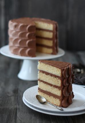 Chocolate Petal Cake Frosting Tutorial