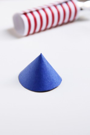 DIY Rocket Firecracker Cupcake Toppers