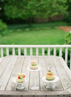 DIY Tiered Mini Cakes