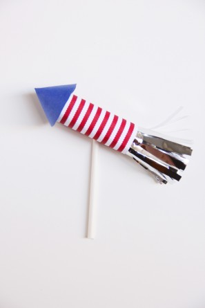 Firecracker Cupcake Topper DIY