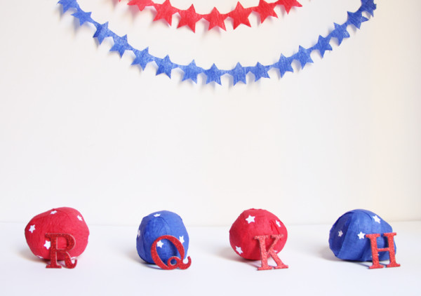 Fourth of July Surprise Balls
