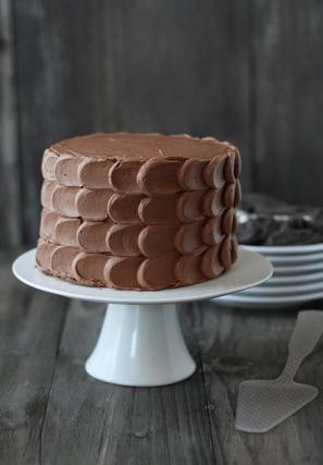 Petal Cake Frosting Tutorial