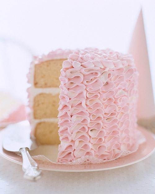 Ruffle Cake Frosting Tutorial