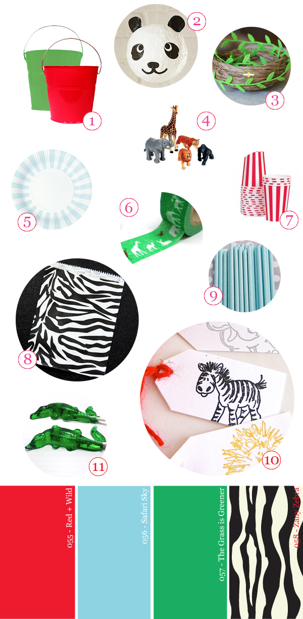 Zoo Party Supply Guide