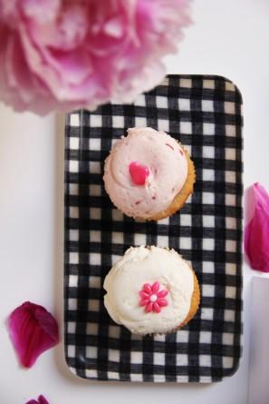 Pink Cupcakes Dessert Bar Labels