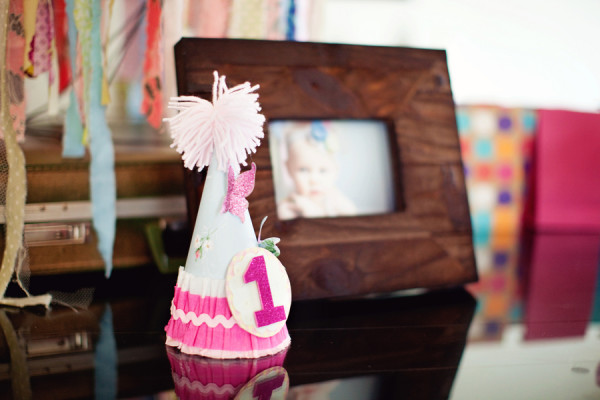Pink Handmade Birthday Hat