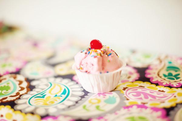 Pink Ice Cream Birthday Party Dessert