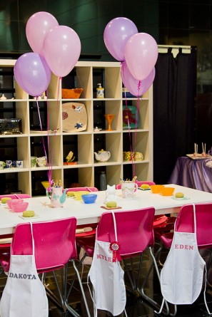 Pink and Purple Birthday Party