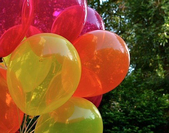 A DIY Colorful Surprise Birthday Party (For Me!)