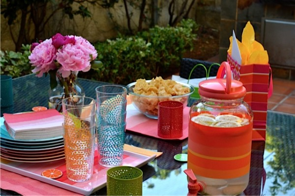 Colorful Birthday Surprise Party