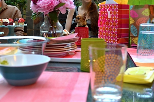 Colorful Stripe Birthday Party
