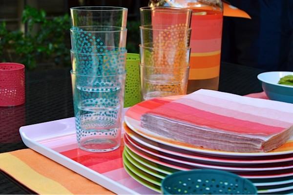 Colorful Stripe Surprise Party
