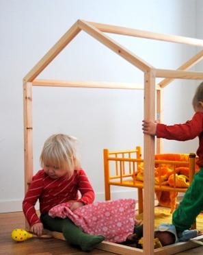 DIY Open Playhouse