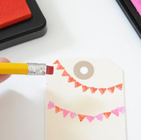 DIY Pencil Eraser Stamps
