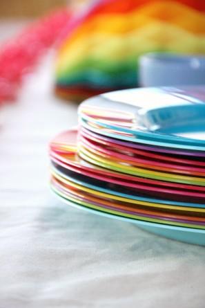 DIY Rainbow Birthday Party