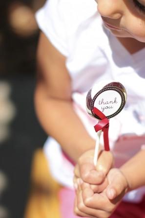 DIY Thank You Lollipop Favors