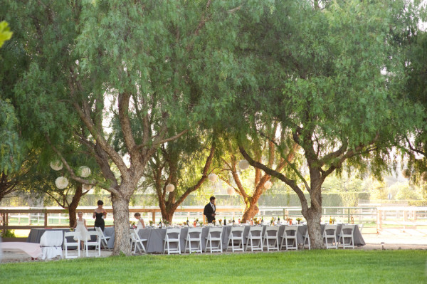Intimate Outdoor California Wedding