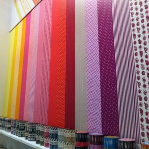 NYIGF Washi Tape Wall