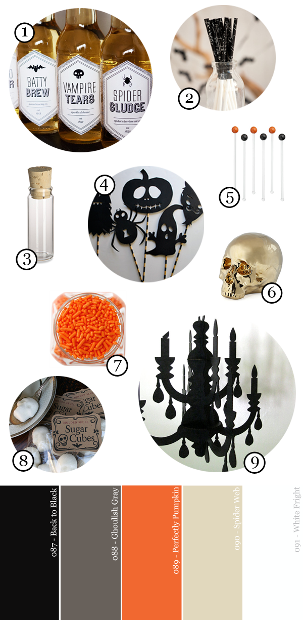 Black-Orange-and-Netural-Halloween-Party-Supply-Guide