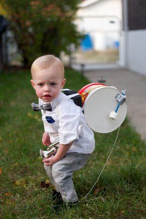 DIY One Man Band Costume