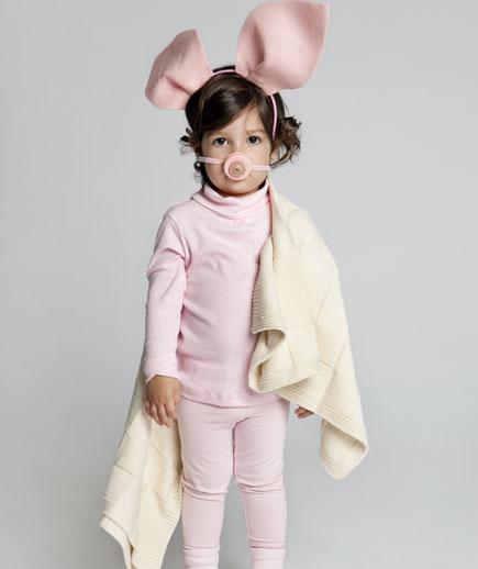 DIY Pigs in a Blanket Costume