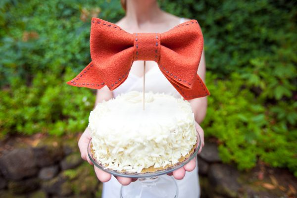 Giant Bow Cake Topper