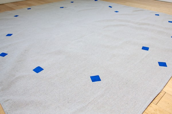 How to Paint a Picnic Blanket
