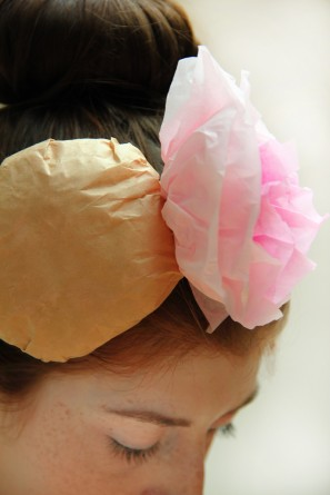 DIY Croquembouche Headpiece Costume