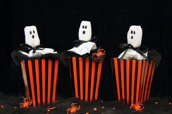 DIY Ghost Confetti Poppers