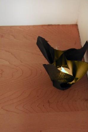 DIY Tissue Paper Tea Lights
