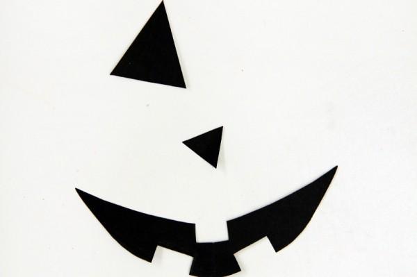 Jack-o-Lantern Envelope Liner DIY Tutorial