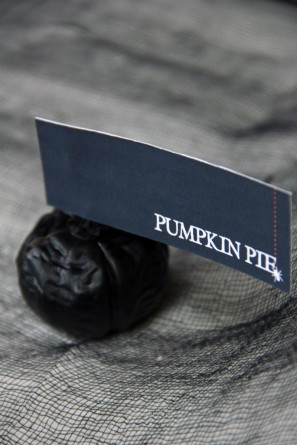 Mini Pumpkin Dessert Labels