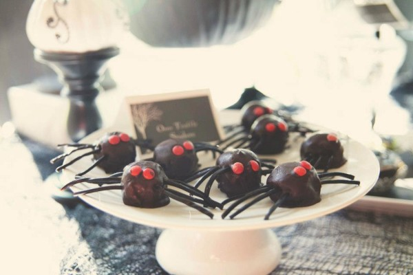 Spider Cake Truffles