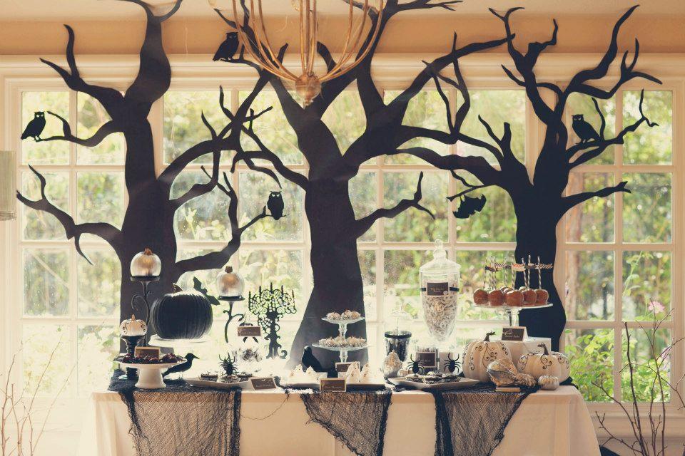 Spooky diy halloween party - Deco pour halloween a fabriquer ...