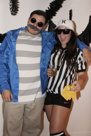 Weekend at Bernies and Ref Costume